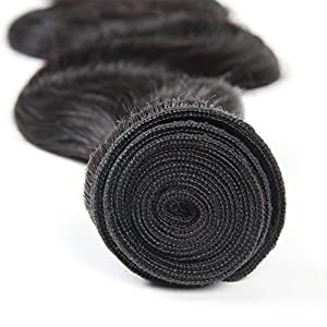 Brazilian Virgin Hair Body Wave 4 Bundles Deals Remy Human Hair Bundles Weave Good Cheap Wet And Wavy Human Hair Extensions 50g/Piece Natural Color 10 10 10 10 Inch