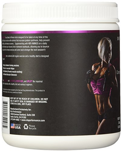 NLA For Her Her Aminos Pink Lemonade Diet Supplement, 254 Gram, 0.56lbs