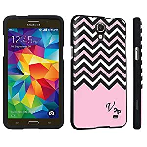 M.Y.S.YSamsung Galaxy Mega 2 Hard Case Black - (Black Pink White Chevron V)