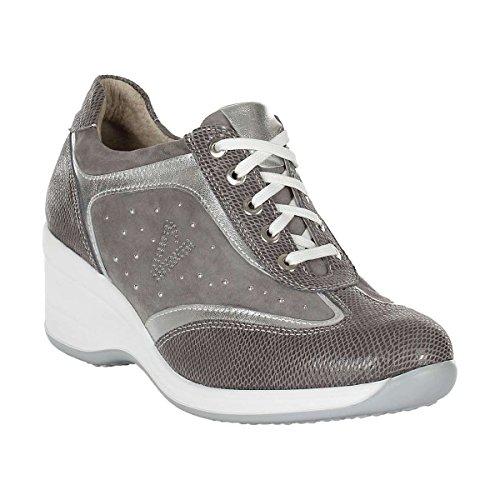 VALLEVERDE , Damen Sneaker Grau grau 35 Grau