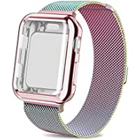 AdMaster Compatible Apple Watch Band 38mm 42mm, Stainless...