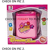 Forart Washing Machine Toy Baby Home Miniature Laundry Playset Mini Pretend Play Toy for Kids