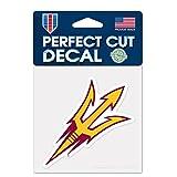 WinCraft NCAA Arizona State University 52846012 Perfect Cut Color Decal, 4' x 4', Black