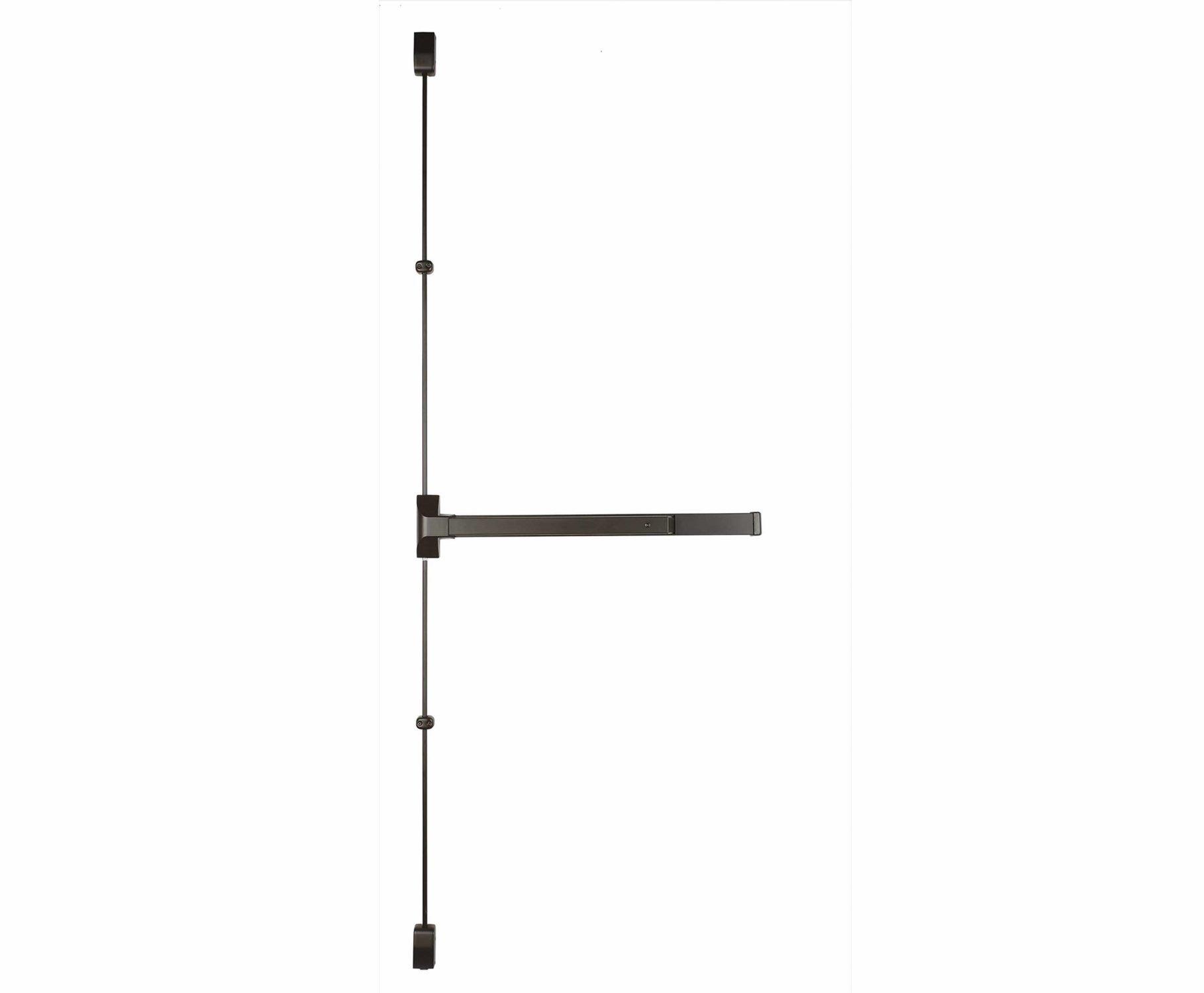 Copper Creek V9560-DB-36 Grade 1 Vertical Rod Exit 36-Inch Wide Dura, Bronze