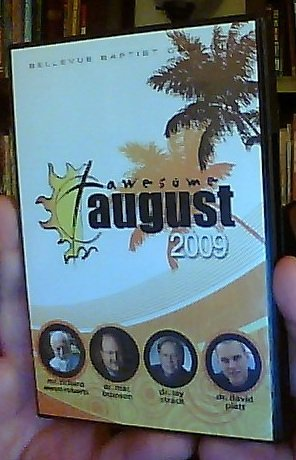 Awesome August 2009 - Bellevue Baptist Church [4 CD Set]