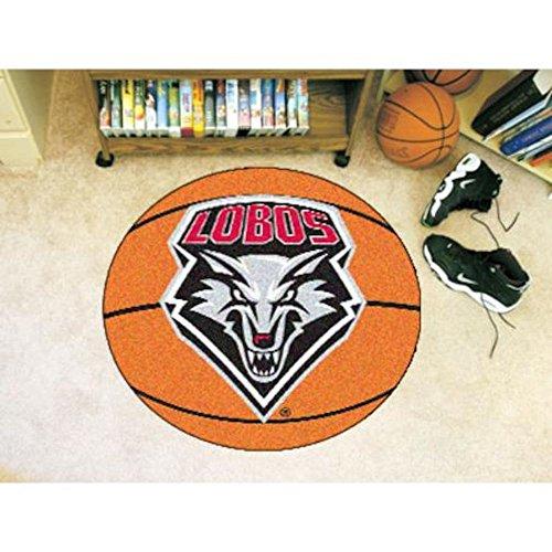 New Mexico Basketball Rug (University of New Mexico Basketball Mat)