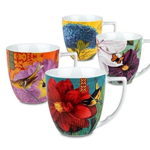 Waechtersbach Accents Impressions Mugs, Multicolor, Set of 4 ()