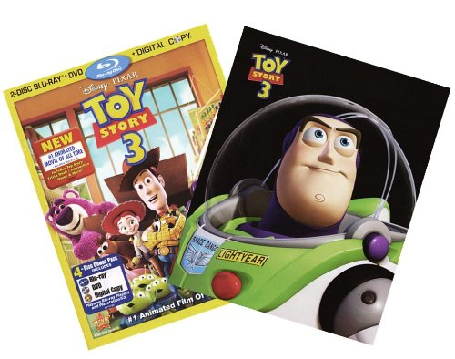 Toy Story 3 (4-Disc Combo Pack with IronPack Case) [2 Blu-ray + DVD + Digital Copy]