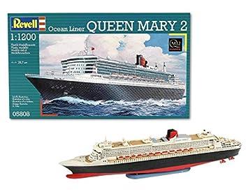 Revell- Maqueta de Buque Crucero Ocean Liner Queen Mary 2 ...