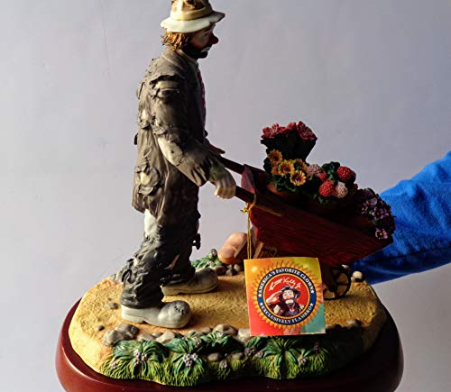''Our Perennial Favorite'' - The Emmett Kelly Jr Block Set, Collectible Porcelain Hobo Clown Figurine for $<!---->