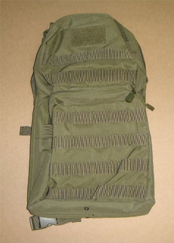 Molle Hydration Backpack Pack with Bladder-OD Green, Outdoor Stuffs