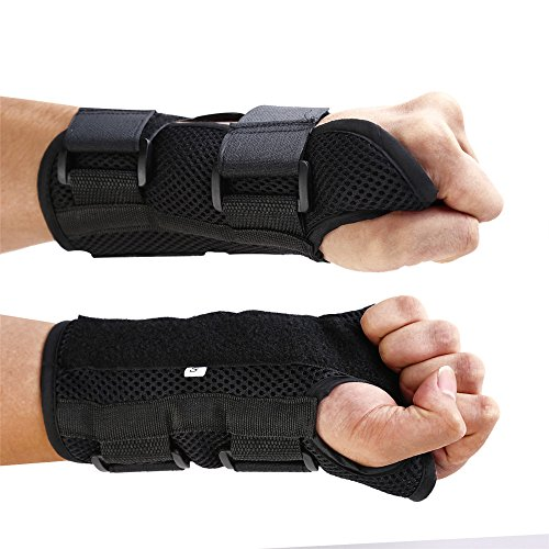 Adjustable Double Straps Carpal Tunnel Wrist Brace Suppor...