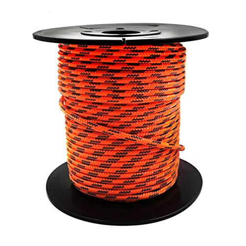 (GM CLIMBING Accessory Cord 100feet 3mm (1/8in) Diameter (Orange))