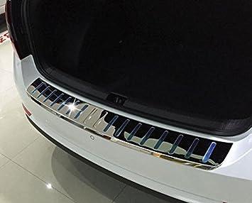 Skoda Octavia III Hatchback Acero Inoxidable ladekant Protección: Amazon.es: Coche y moto