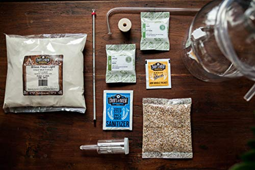 Home Brewing Kit for Beer - Craft A Brew Oktoberfest Ale Beer Kit - Reusable Make Your Own Beer Kit - Starter Set 1 Gallon