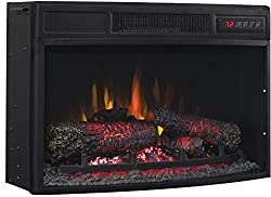 Classic Flame 25EF033CLG Curved Electric Fireplace Insert from ClassicFlame