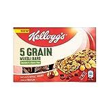 Kellogg's 5 Grain Muesli Bar Chocolate & Nuts 4 x 30g - Pack of 6
