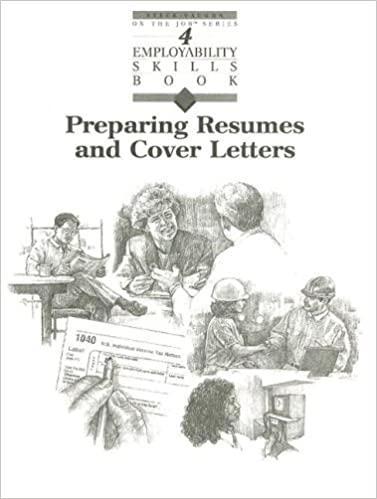Preparing Resumes And Cover Letters Steck Vaughn Employability Skill Books STECK VAUGHN 9780817278281 Amazon