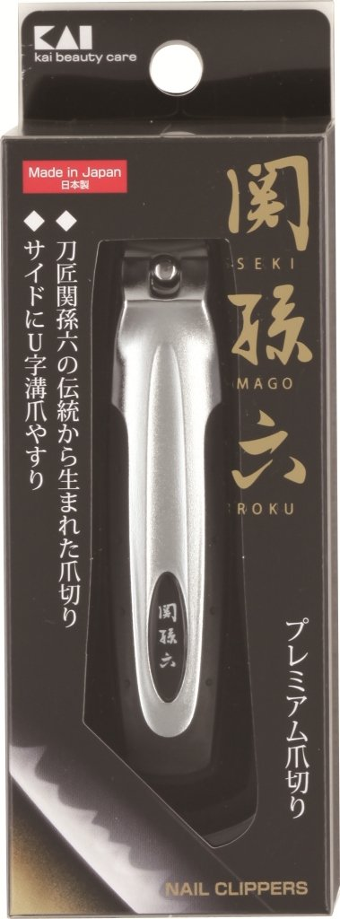 Made in Japan Kai X Seki Mago Roku Finger Nail Clipper with Nail Cutter Type
