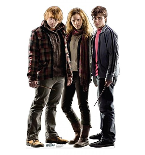 Harry Potter, Hermione and Ron Cardboard Cutout