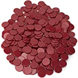 300-pack of Solid Opaque 3/4-inch Bingo Chips, Great for Classroom Counting and Math Activities by Royal Bingo Supplies