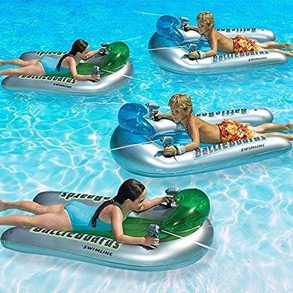 Amazon.com: Swimline battleboards lanzadora Juego piscina ...