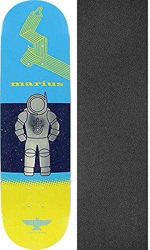吸収する傾向があります砲兵HabitatスケートボードMarius Syvanen Finn in Space Skateboard Deck – 8.25