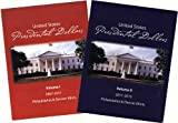 1 - Presidential Dollars Folder Set P and D Mints 2007--2015 Volumes I and II - - -