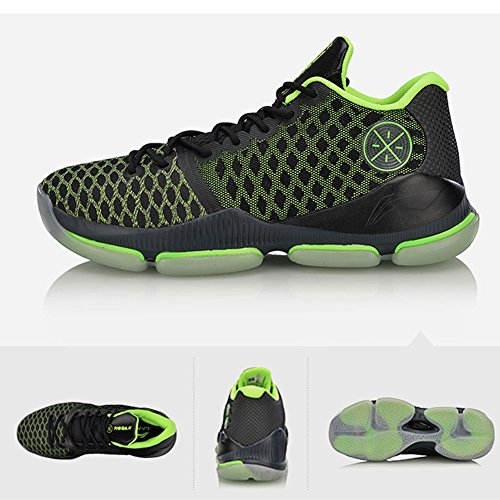 new styles 9d780 5f3d7 Li-Ning Men Wade FISSION III Winter Edition Professional Basketball Shoes  Cloud BOUNSE + Sports