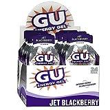 Gu Energy Gel-dietary Supplements, Jet Blackberry 24 Ea (Pack of 3)