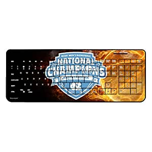 North Carolina Tar Heels 2017 NCAA Men's Basketball National Champions Wireless USB Keyboard NCAA