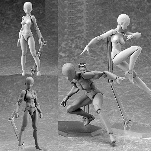 Figma 1.0 Archetype He / She Joint Movable Action Figure Toy