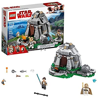 LEGO Star Wars: The Last Jedi Ahch-To Island Training 75200 Building Kit (241 Pieces): Toys & Games