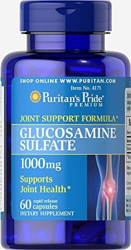 Puritan's Pride Glucosamine Sulfate 1000 mg-60 Capsules