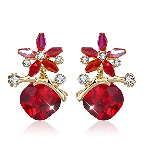 Yellow Chimes Designer Fashion Earrings Studs for Girls and Women