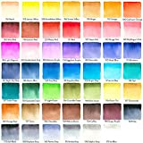 Arteza Real Brush Pens, 48 Colors for Watercolor