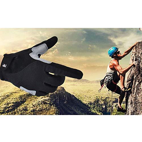 Men Rock Screen Nero Climbing Amdxd Guanti Outdoor Touch SvwtOq