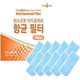 Anti-bacterial HEPA Filter Pack (10pcs) for iClebo Robot Vacuum Cleaner Arte / Pop / Light / Disney Official Consumable Accessories YCR-M05 YCR-M06 YCR-M08