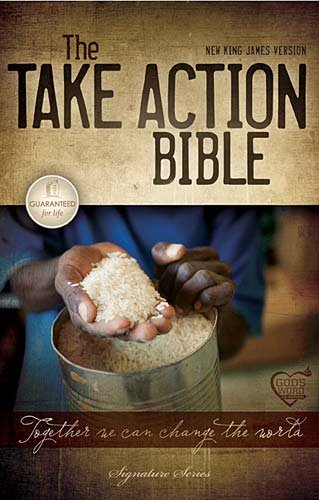 The Take Action Bible: Together We Can Change the World: New King James Version Brown