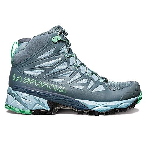 La Sportiva Blade GTX Women's Hiking Shoe, Slate/Jade Green, 38.5