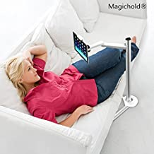 "MagicHold 360º Turn Height Adjusting stand for ipad Pro/Ipad/tablet/iphone 6/6S/6+/6S+ Stand/holder,ms Surface Pro,Any tablet upto 13"" for both entertainment,lecture, musician stand"