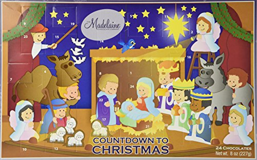Madelaine Chocolate Countdown to Christmas Advent Calendar -Christmas Pageant
