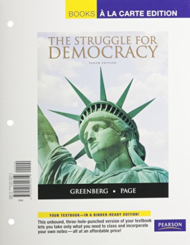 Struggle for Democracy, The, Books a la Carte Plus MyPoliSciLab -- Access Card Package (10th Edition)