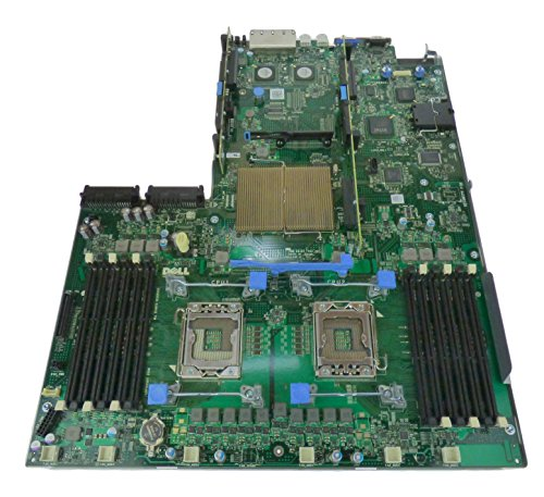 ge R610 Server Motherboard Mainboard Systemboard, Compatible Dell Part Numbers: XDN97, F0XJ6, DFXXD, 8GXHX, 3YWXK, J352H, K399H, TTXFN, 4T81P ()