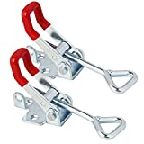 Phansthy 550lbs Capacity Pull Action Latch Type Toggle Clamp 250KG Holding Capacity Clamps Packed 2pcs
