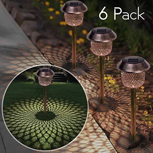 Bronze Solar Lights For Garden in US - 5