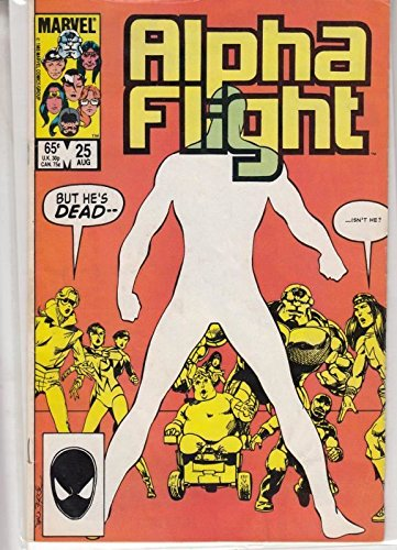 Alpha Flight #25 : And Graves Give Up Their Dead (Marvel Comics) from Marvel Comics