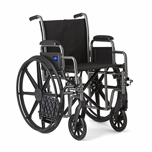 Medline-Strong-and-Sturdy-Wheelchair-with-Desk-Length-Arms-and-Swing-Away-Leg-Rests-for-Easy-Transfers-18-Seat
