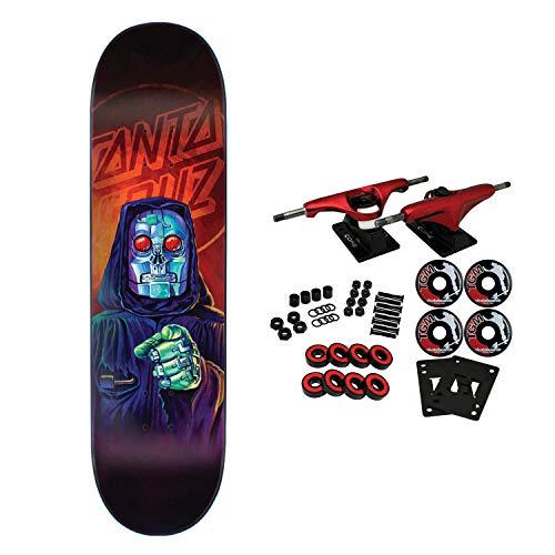 (Santa Cruz Skateboard Complete The Worst Robot Reaper Everslick 8.0