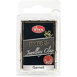 Viva Decor Pardo Jewelry Clay, 56g, Garnet